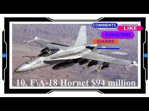 Top 10 Most Expensive Military Airplanes in The World 2018