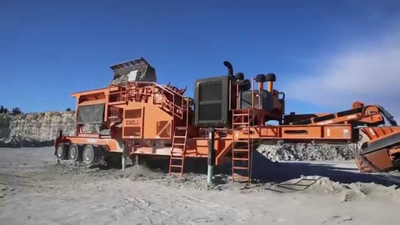 Eagle Impact Concrete/rock Crusher Ultramax 500 S/n 11048 |Cement Eagle Crushers