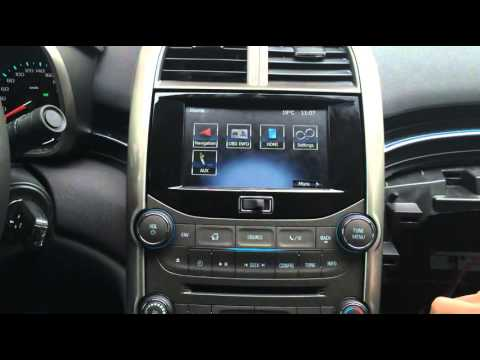 2013 2015 Chevrolet Malibu Navigation Interface