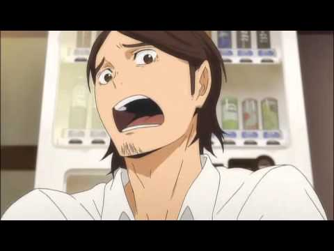 Haikyuu OVA - Asahi playing Monster Hunter