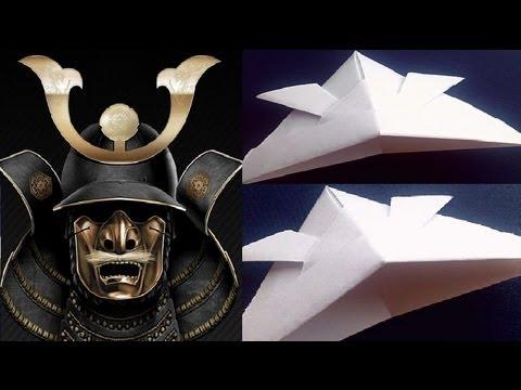 Origami Samurai Helmet Youtube