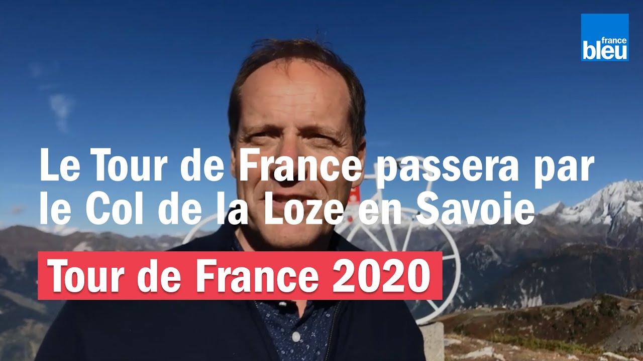 Tour de France 2020 | Christian Prudhomme confirme le passage du Tour au col  de la Loze - YouTube