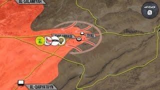 21 декабря 2016. Военная обстановка в Сирии. Бои в районе авиабазы Тияс. Русский перевод.
