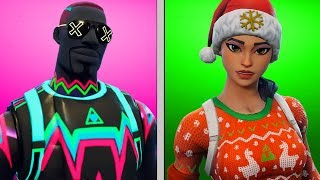 THE BEST LOW BUDGET SKINS - OUTFITS FOR SMALL MONEY - FORTNITE BATTLE ROYALE ENGLISH