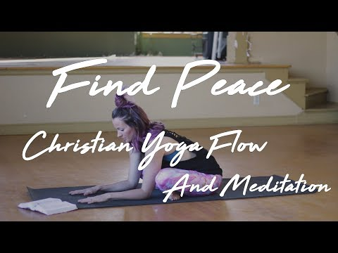 Christian Yoga Peaceful Flow - ChristiansDoYoga.com