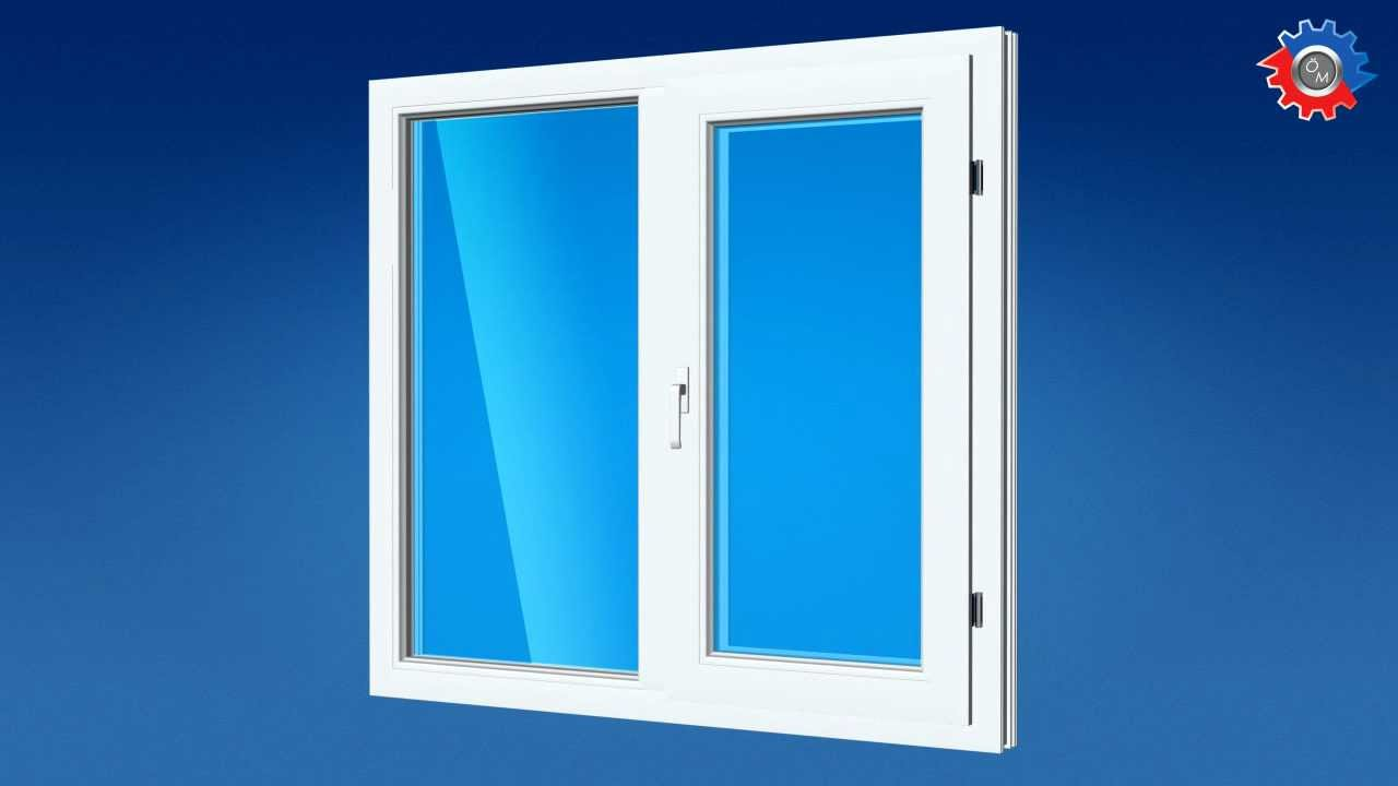 How to make a pvc window youtube for Pvc window frame