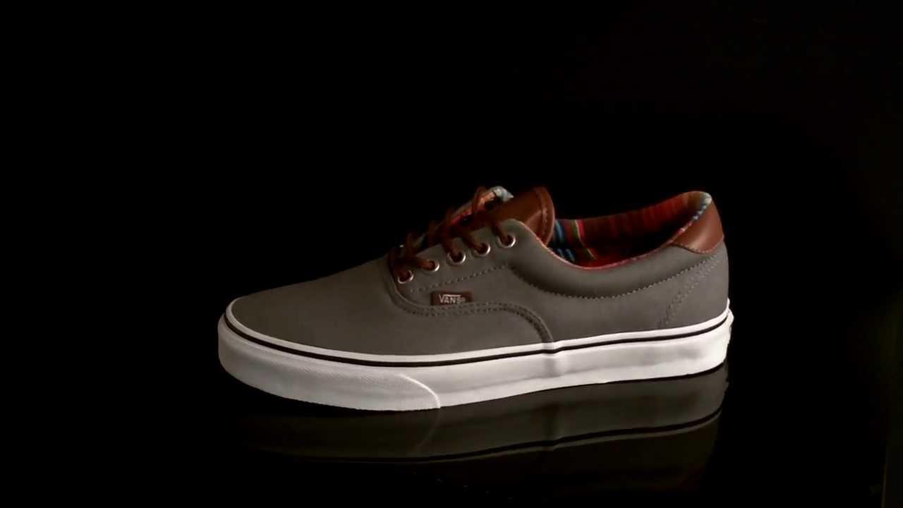 Vans ERA 59 Sneaker (C L) Steel Gray VUC6AR0 - YouTube aec9bf3a2