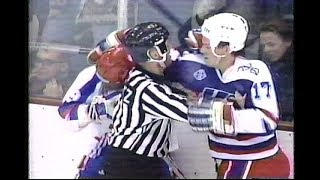 1992 Olympic Hockey: Team USA vs. France End of Game Fight