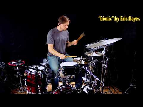 "Mike Dawson Drum Session Cam for ""Bionic""  by Eric Hayes"