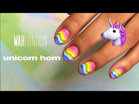 Unicorn Horn Nails Wah London