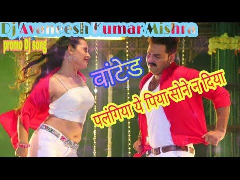 Palangiya ye piya sone na diya पलंगिया ये पिया सोने न दिया song wanted film dj Avaneesh Kumar mishra