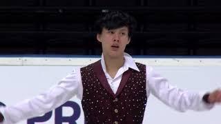 Joseph Phan Канада | ISU Гран при (юниоры) 2018 Каунас | Произвольная программа (юноши)