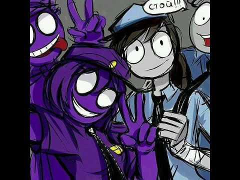 Новые картинки фиолетового парня