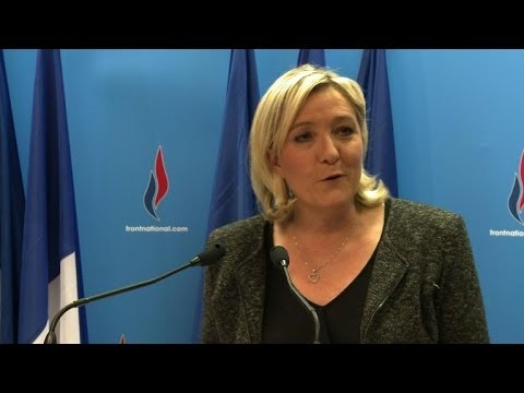 """Le FN, """"une grande force locale"""", pour Marine Le Pen"""