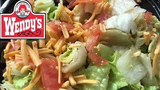 Repeat youtube video Wendy's Taco Salad | BACK FROM THE DEAD | Nasty FootBun on my BURGER