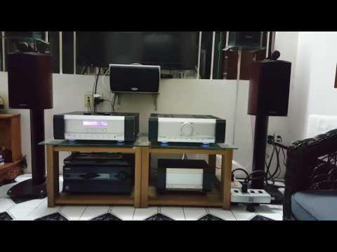 Musical fidelity KW & speaker B&W 805 Diamond