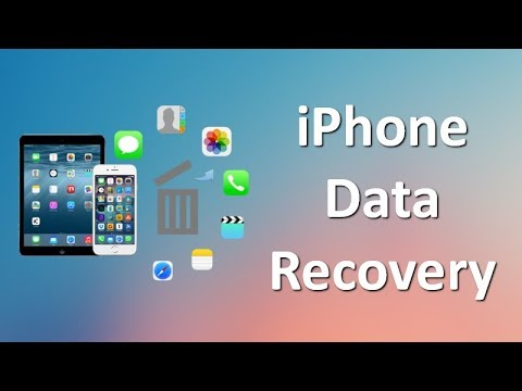 iPhone Data Recovery: How to Recover Deleted\/Lost Data from iPhone or iPad  YouTube
