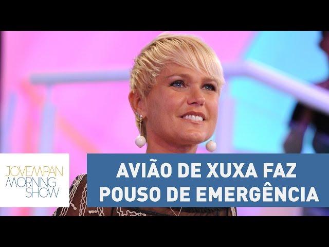 Avião de Xuxa faz pouso de emergência e ela desabafa em vídeo | Morning Show