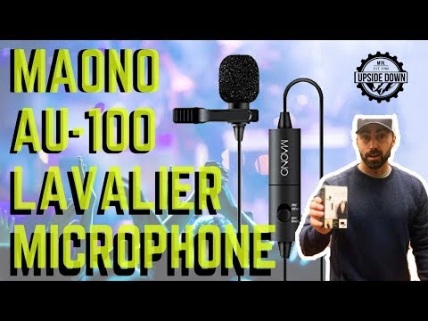 Maono AU-100 Lavalier Microphone Review