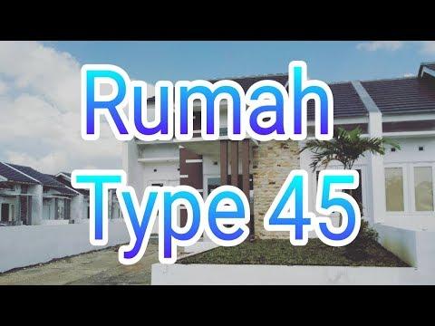 92+ Gambar Rumah Cantik Type 45 HD Terbaru