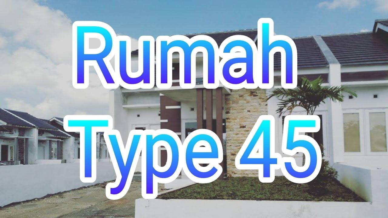 15 Desain Rumah Type 45 Minimalis 2018 Youtube