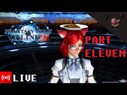 Phantasy Star Online 2 (PART 11) [PSO2 US Player AMA] Youtube LIVE