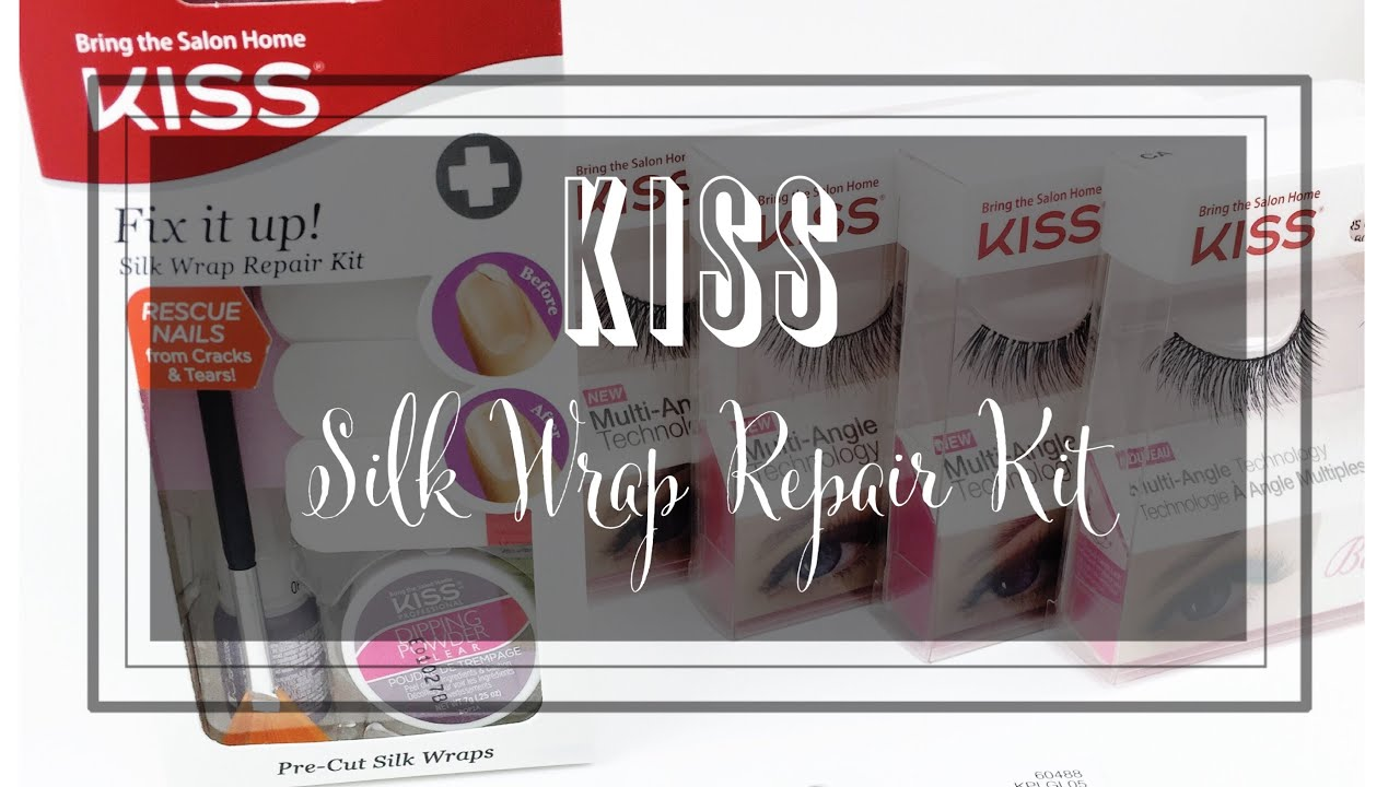 How to Repair Broken Nails at Home | Kiss Silk Wrap Kit Review - YouTube