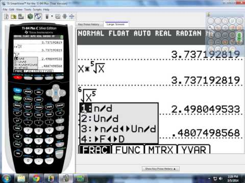 Rational Exponents, Radical Expressions, and Polynomial and Rational Expressions