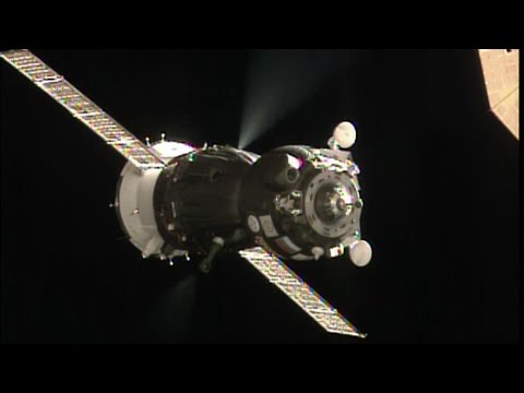 Soyuz Docked to Space Station