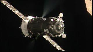 Soyuz Docked to Space Station