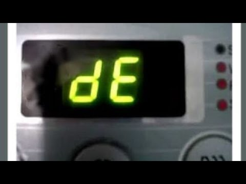 DE error code fix without replacing door switch