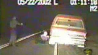 Cop hits guy with taser - half dozen times  funny ?
