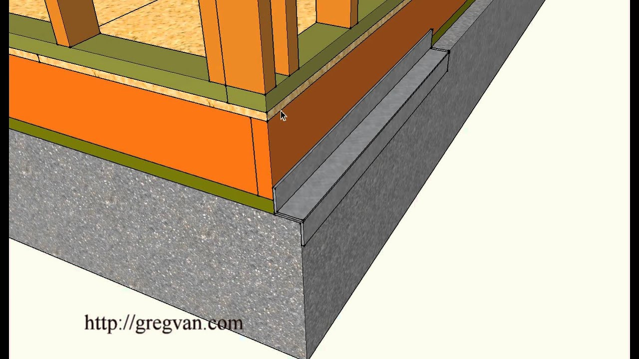 Siding Problems With Overhanging Concrete Foundations
