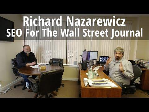 Richard Nazarewicz On SEO For The Wall Street Journal - #129 - YouTube