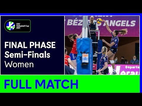 BEZIERS Angels vs. Galatasaray HDI ISTANBUL - CEV Volleyball Cup 2021 Women Semi-Finals