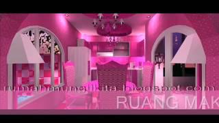 rumah barbie impian yang menjadi nyata