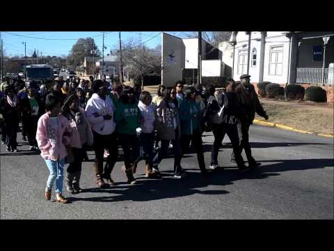 Martin Luther King Jr. Day march in Montevallo