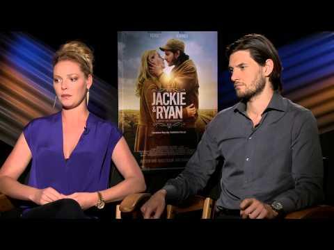 Exclusive Interview: Katherine Heigl And Ben Barnes Talk Jackie & Ryan