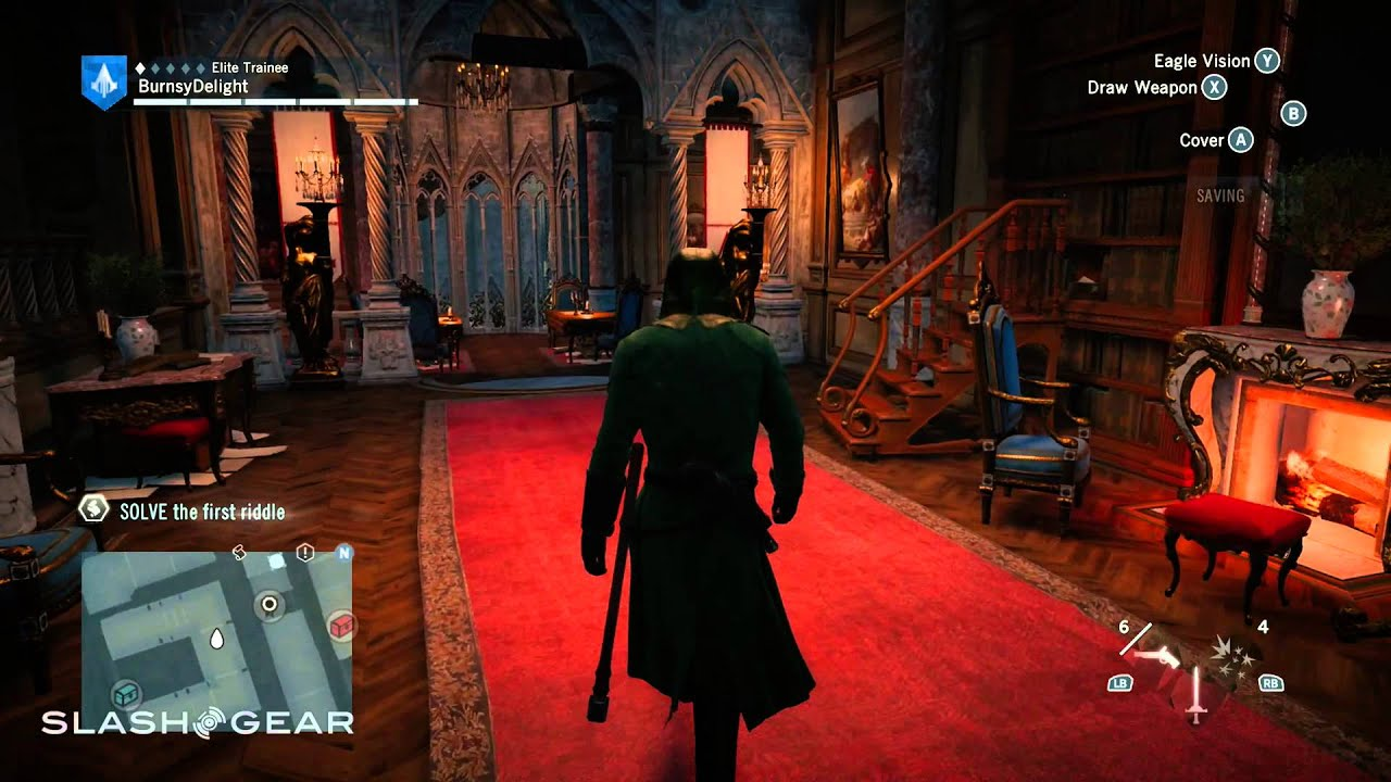 Assassin S Creed Unity Xbox One Gameplay Brotherhood Hideout