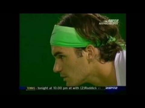 Australian Open 2006 R3 - Federer vs Mirnyi Highlights