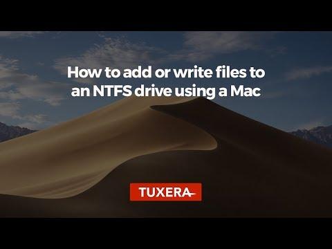 Microsoft NTFS for Mac by Tuxera–Read & write Windows drives