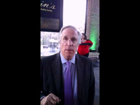 Henry winkler at JINGLE JANGLE EVENT