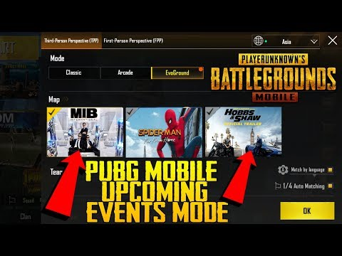 Pubg Mobile New Event Mode Update | MIB Alien Mode | SPIDERMAN | Hobbs & Shaw Collab