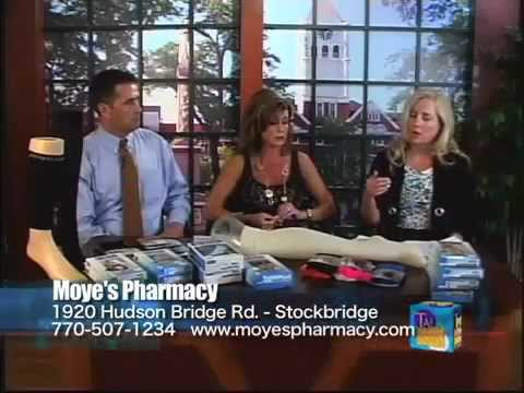 Moye's Pharmacy Compression Hosiery on SCB TV Talk of the Town - Moye's Pharmacy