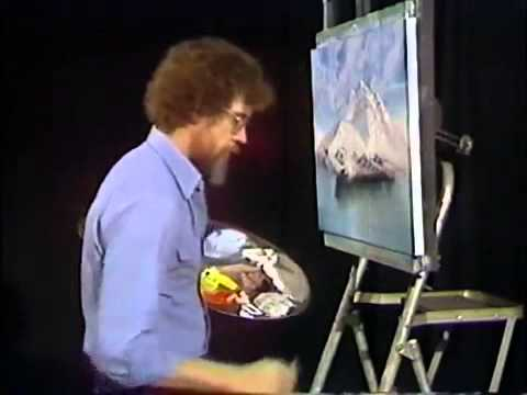 I Just Found Out That Bob Ross Had A Tv Show I Thought He Was