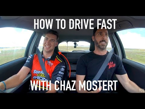 How To Drive Fast (with Pro Race Car Driver Chaz Mostert)