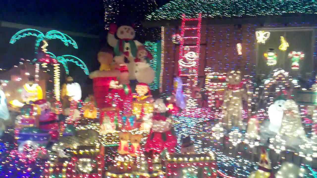 Christmas lights in Glendale, AZ #3 - YouTube