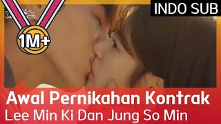 Awal Pernikahan Kontrak Lee Min Ki Dan Jung So Min #BecauseThisisMyFirstLife 🇮🇩 INDO SUB 🇮🇩
