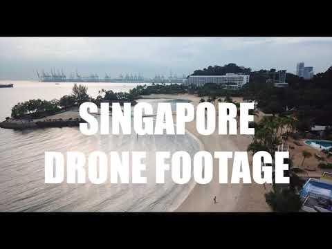 SINGAPORE DRONE FOOTAGE