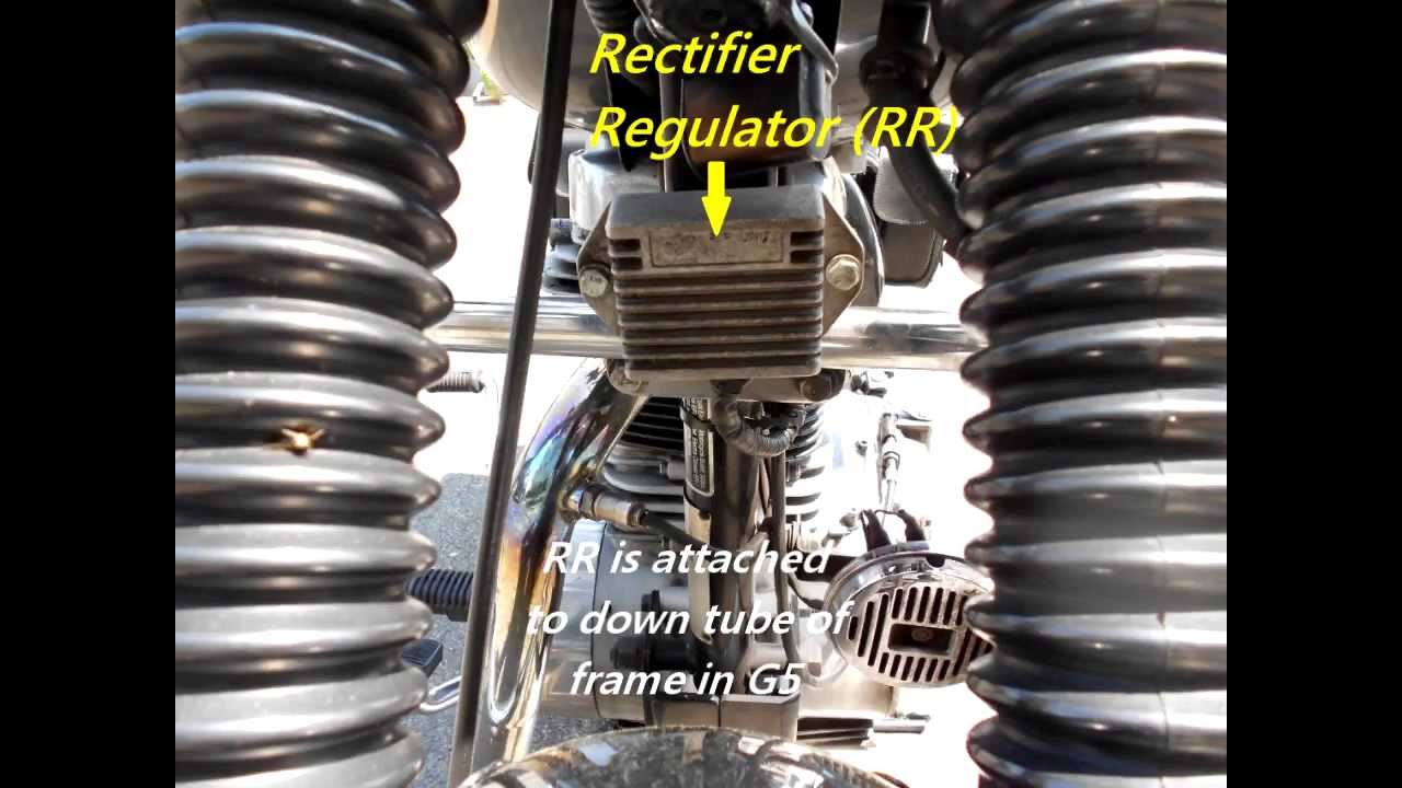 Royal Enfield Regulator Rectifier Wiring Diagram Schematic Diagrams Yamaha Moto 4 80cc Test Of Motorcycle Youtube 1986 Pdf
